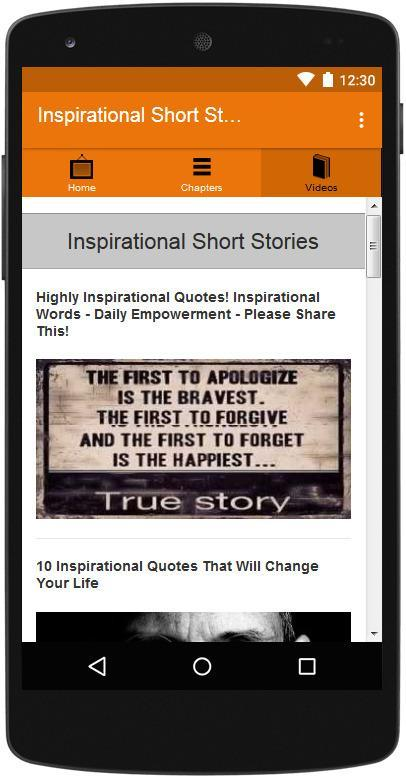 Inspirational Short Stories for Android - APK Download