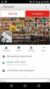 Sportcentrum Oudenrijn screenshot 4