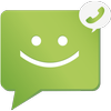 SMS from Android 4.4 with Caller ID أيقونة