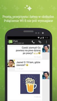 SMS od Androida 4.4 plakat