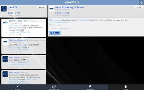 CAASTRO screenshot 3