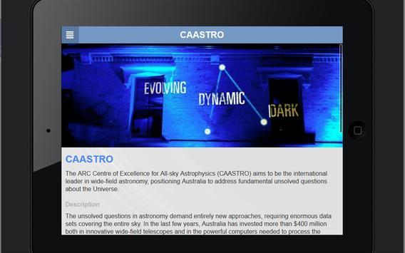 CAASTRO screenshot 2