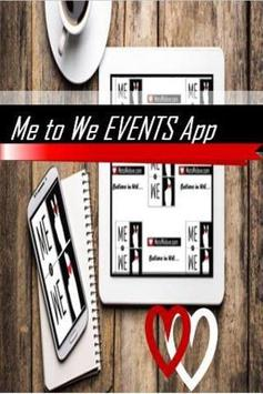 Me to We EVENTS poster