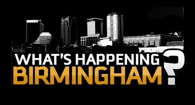 What's Happening Birmingham poster