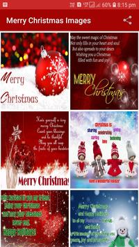 Merry Christmas Wishes Images 2018 screenshot 1