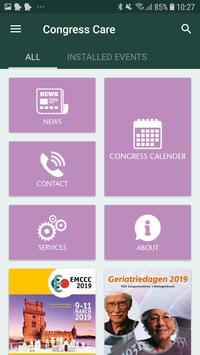 Congress Care - Meeting App screenshot 1