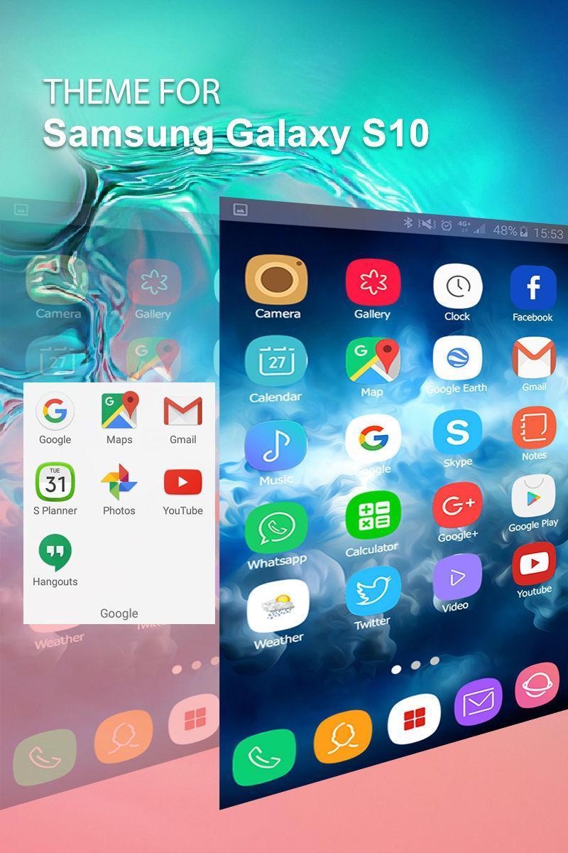 Theme for Samsung Galaxy S10 for Android - APK Download