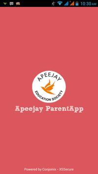 APEEJAY School Parents App poster