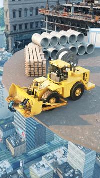 Construction Ramp Jumping poster