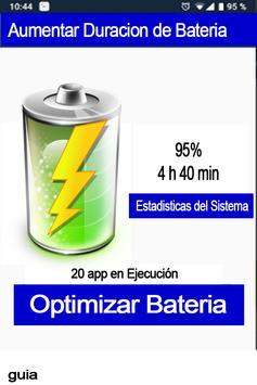 Aumentar duración de la batería del celular - guía screenshot 1