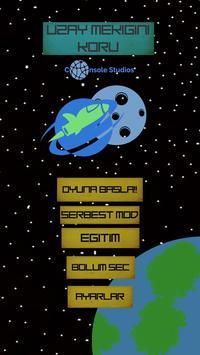 Uzay Mekiğini Koru poster
