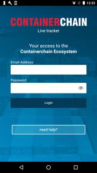 LiveTracker @ Containerchain poster