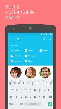 Contacts+ | Contatos+ imagem de tela 4