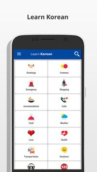 Learn Korean poster