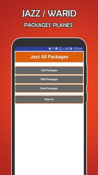 Jazz-Warid All packages poster