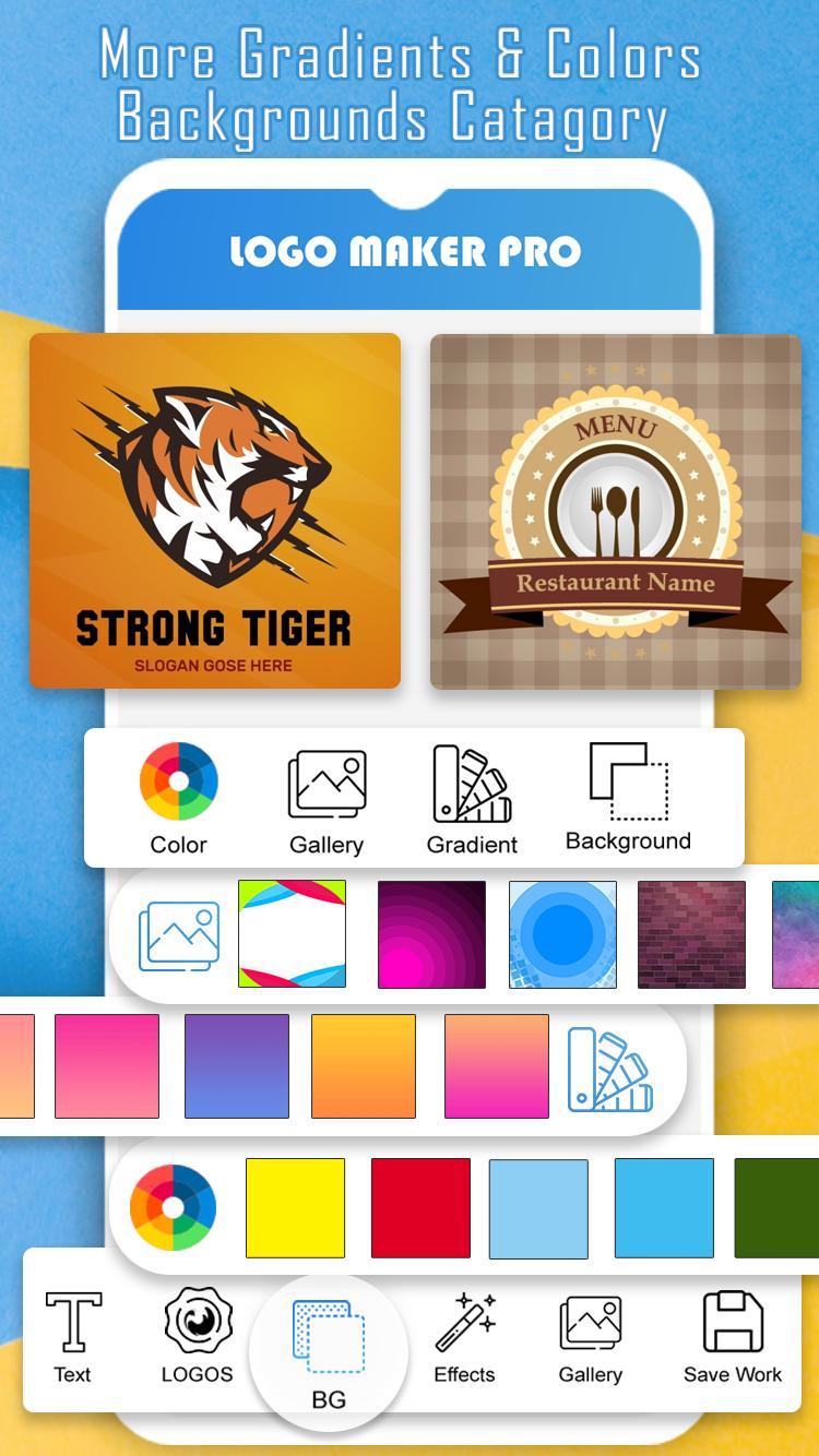 Unduh aplikasi android gratis Logo Maker Pro