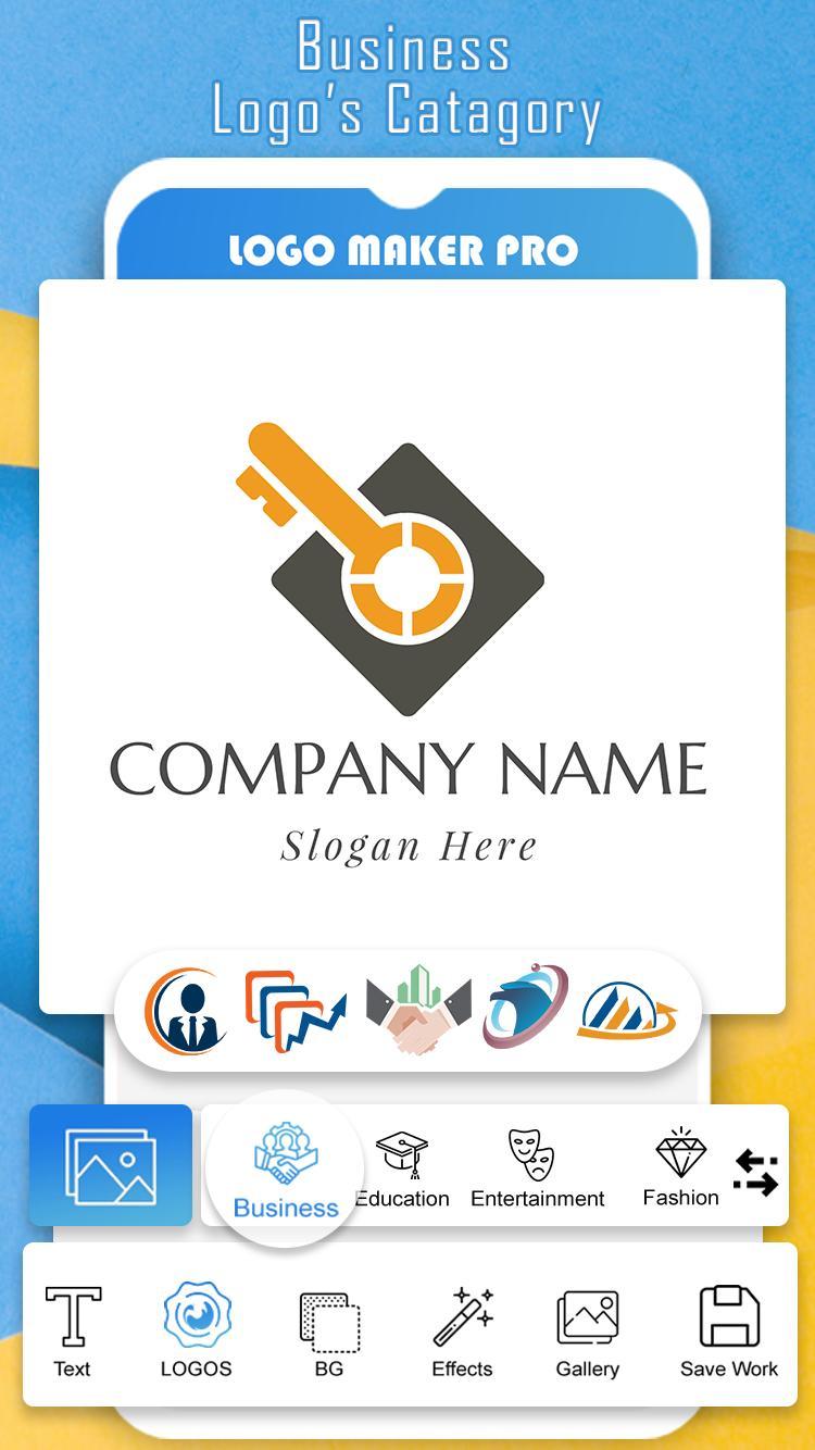 Aplikasi untuk download aplikasi Logo Maker Pro