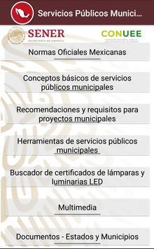 Servicios Públicos Municipales poster