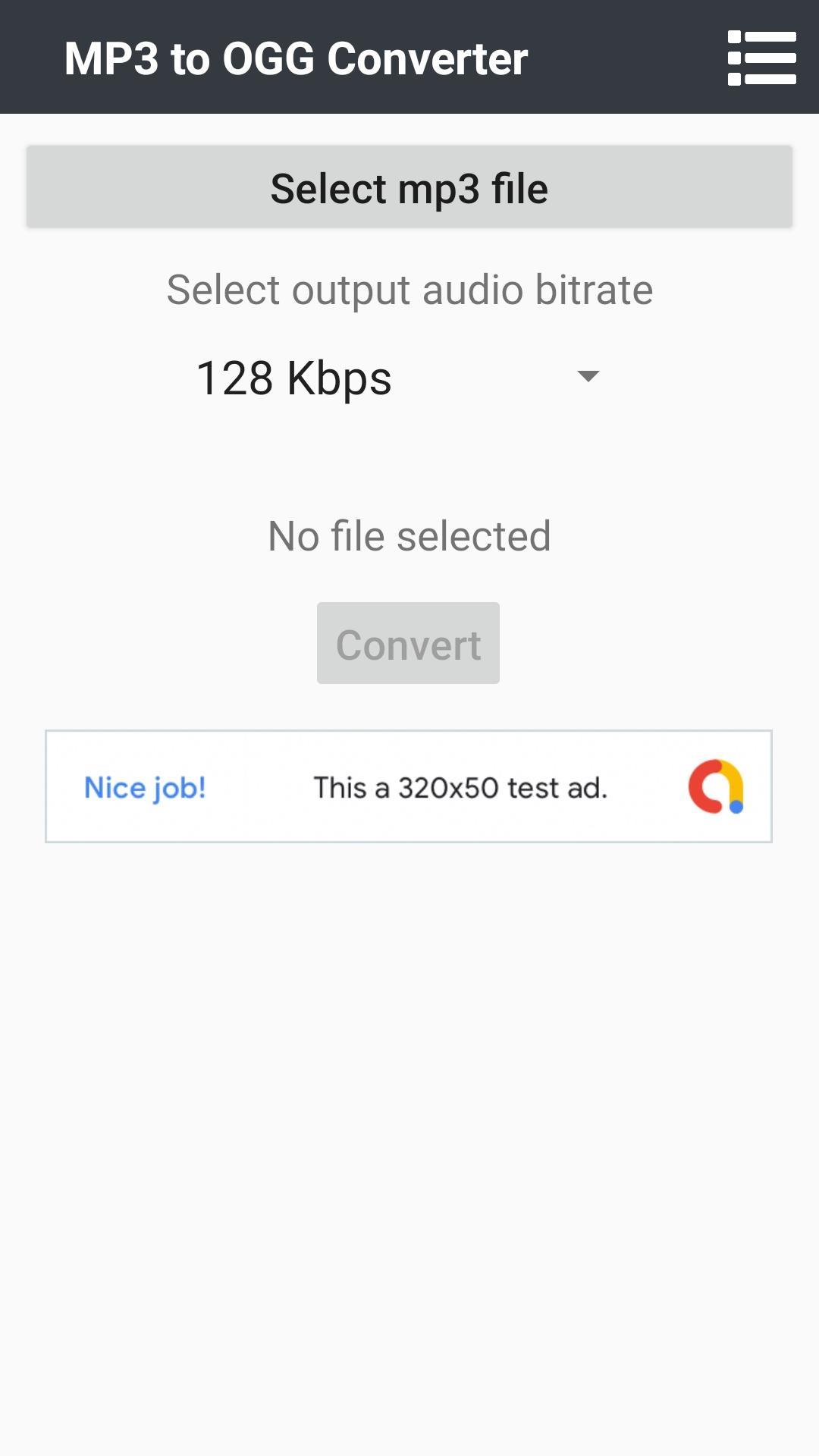 MP3 to OGG Converter for Android - APK Download