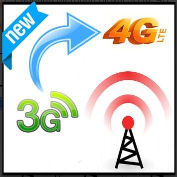 Panduan CARA rubah convert Sinyal 3G Ke 4G poster