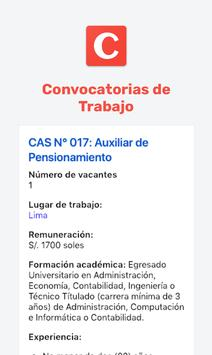 Convocatorias de Trabajo screenshot 1