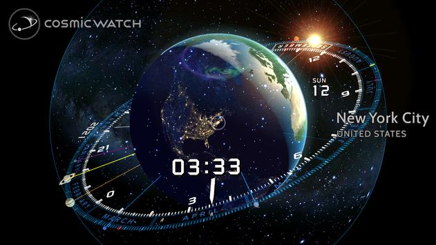COSMIC WATCH: Time and Space poster