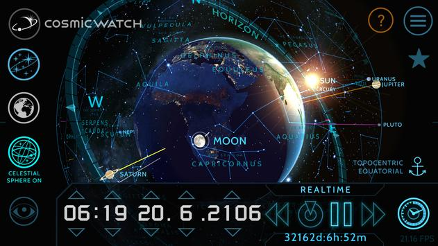 COSMIC WATCH: Time and Space screenshot 2