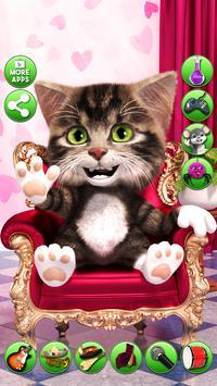 Talking cat Bob - cute talking baby cat screenshot 16