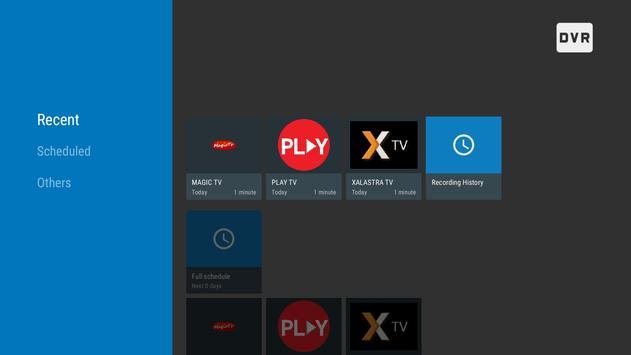 Cosmi DVR - Android TV için IPTV PVR Ekran Görüntüsü 3