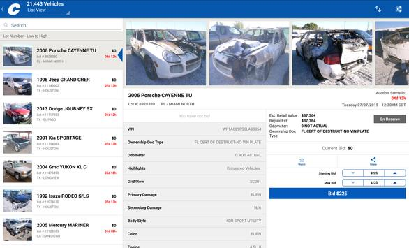 Copart screenshot 4