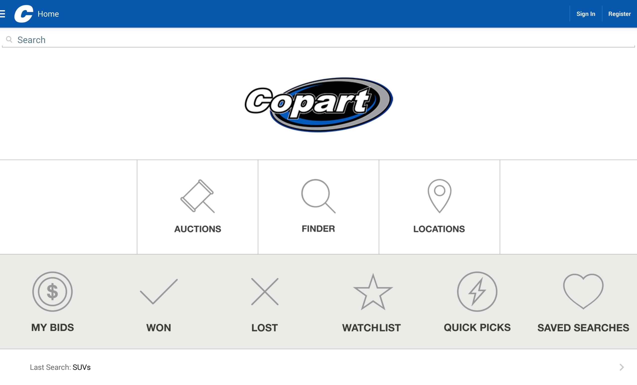 Copart for Android - APK Download