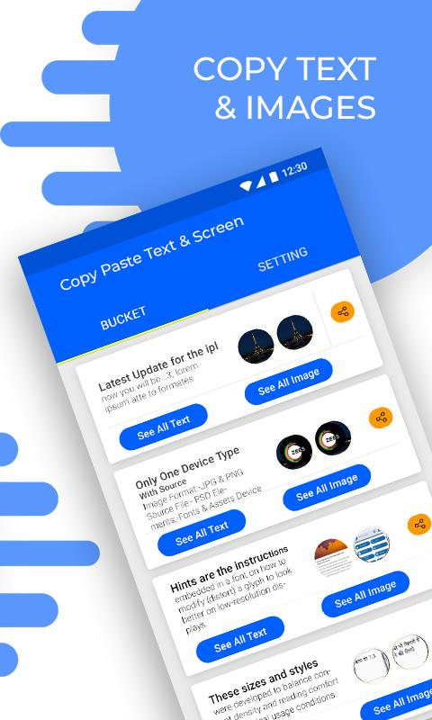 Copy Paste Text & Screen for Android - APK Download