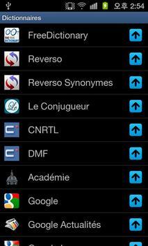 Dictionnaires Français screenshot 4