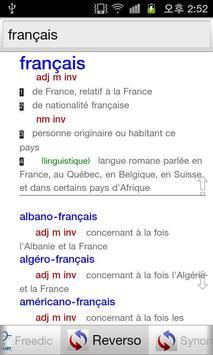 Dictionnaires Français screenshot 1