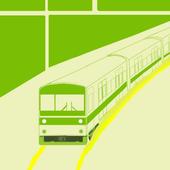 鉄路エディタ -地図上で鉄道路線に線を引ける! (Web版もあります) icon