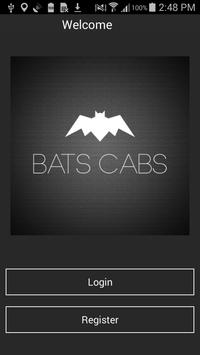 BATS CABS poster