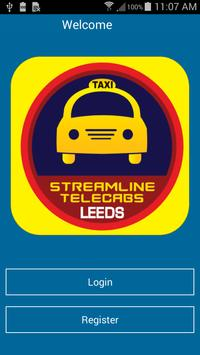 Streamline-Telecabs (Leeds) poster