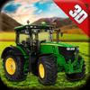 농부 시뮬레이터 3d 아이콘