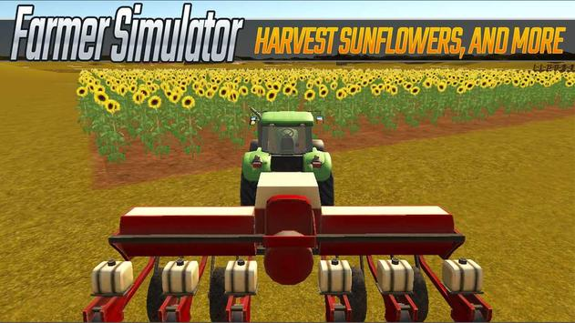 Farmer Simulator 3D poster