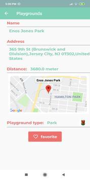 Playground finder screenshot 2