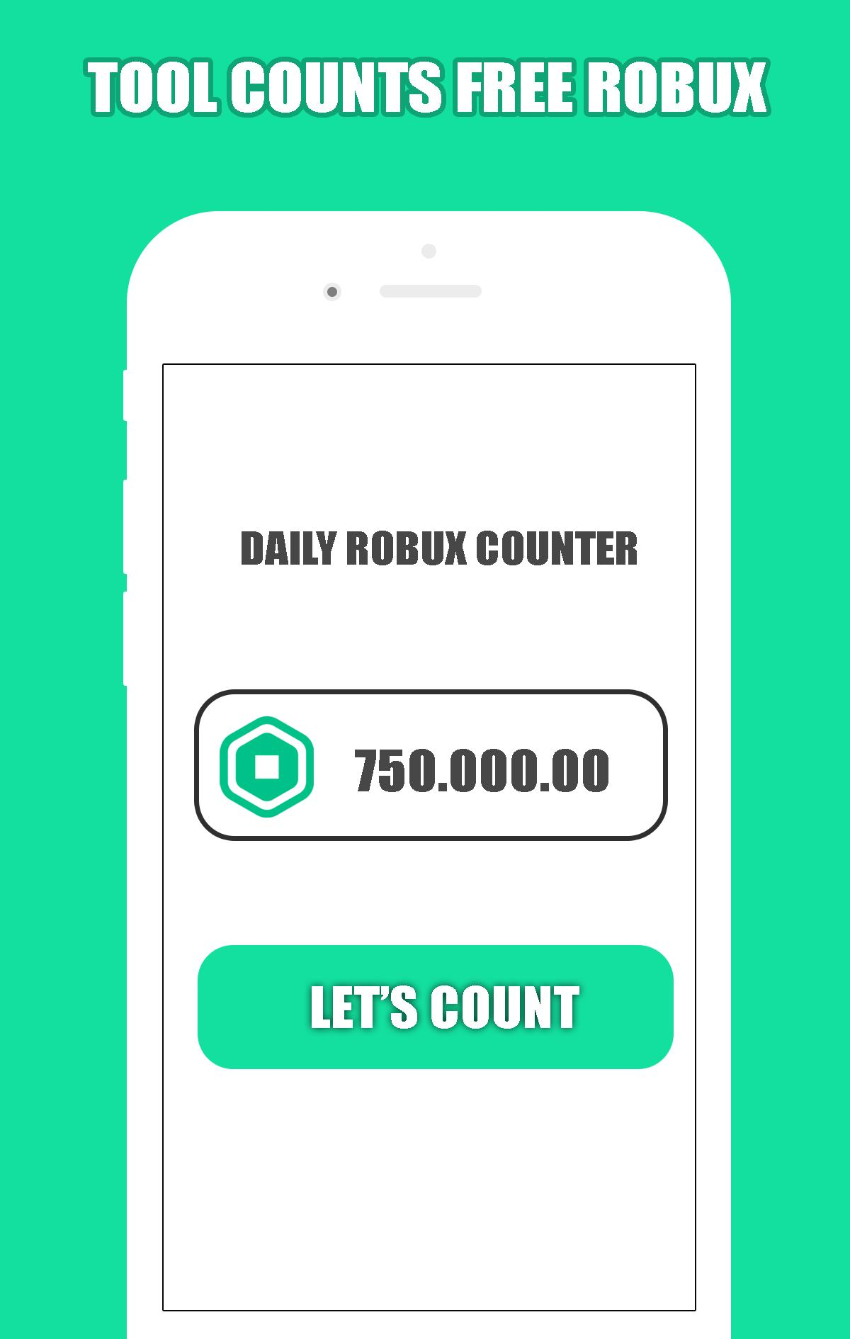 Free Robux Counter Free Rbx Calc 2020 For Android Apk Download