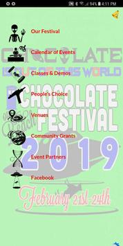 Chocolate on the Beach Festival screenshot 1