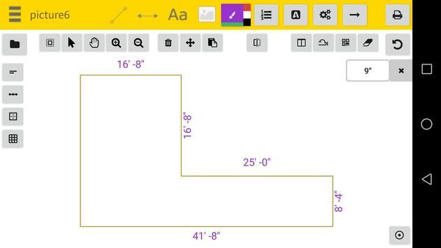 Dimensions CAO Facile capture d'écran 2