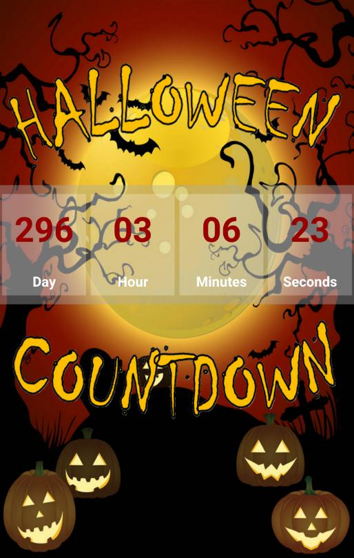 Countdown To Halloween 2020 Halloween Countdown 2020 for Android   APK Download