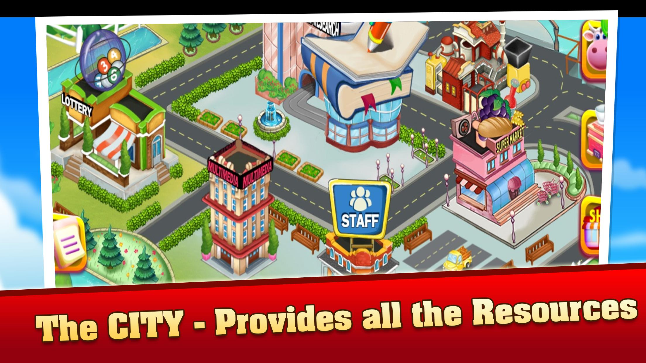 Family Farm Frenzy:Country Seaside Town ville Game for Android - APK