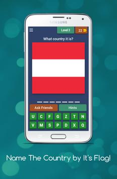 Name The Country by it's Flag! screenshot 2