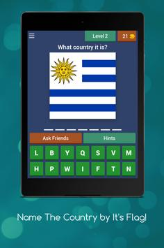 Name The Country by it's Flag! screenshot 6
