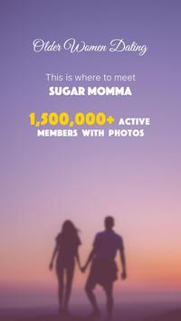 Cougar Dating Life : Date Older Women Sugar Mummy poster