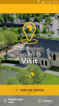 Coulommiers Pays de Brie Visit poster