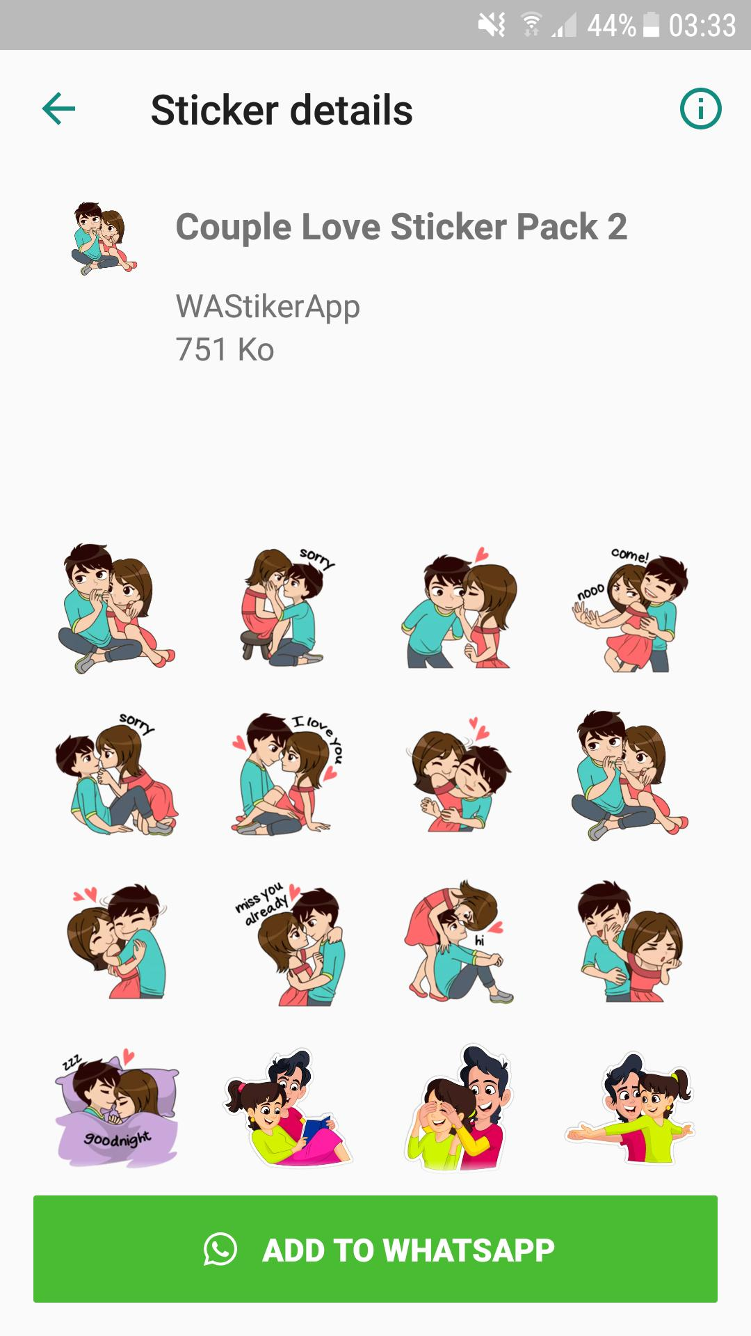 Love Sticker Packs Wastickerapps For Android Apk Download